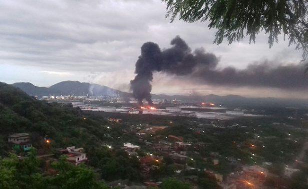 Suspenden clases por tragedia en refinería de Salina Cruz