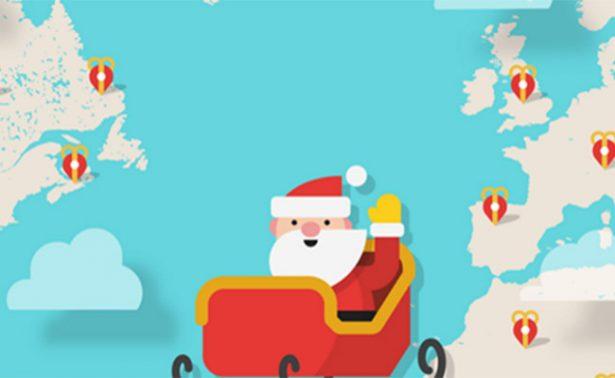 En vivo: ¡Sigue a Santa en su recorrido por el mundo!
