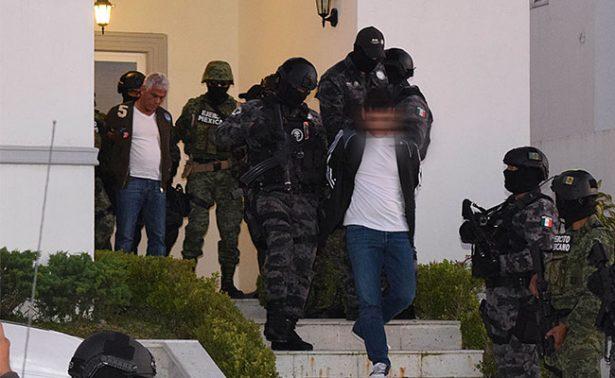 Detienen en Edomex al Quinceañero, operador financiero del Mini Lic