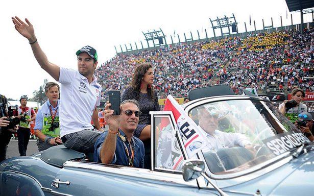 Celebridades y personajes vivieron la adrenalina de la F1