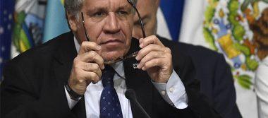 Almagro ofrece renuncia en OEA a cambio de libertad en Venezuela