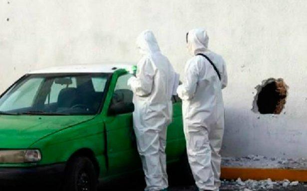 ¡De película! Ladrones hacen boquete para robar banco en Monterrey