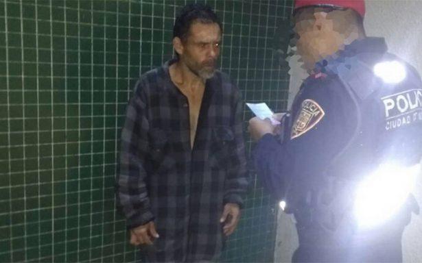 Hombre que aventó a mujer al Metro padece esquizofrenia; estuvo preso 4 veces por robo