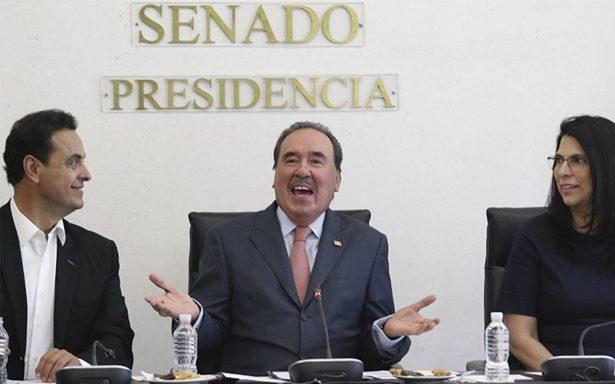 Senadores del PRI dan espaldarazo a negociadores del TLCAN