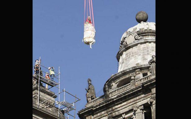 ¿Por qué removieron las esculturas de la Catedral Metropolitana?