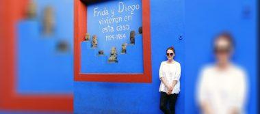 Julianne Moore se pasea por la Ciudad de México