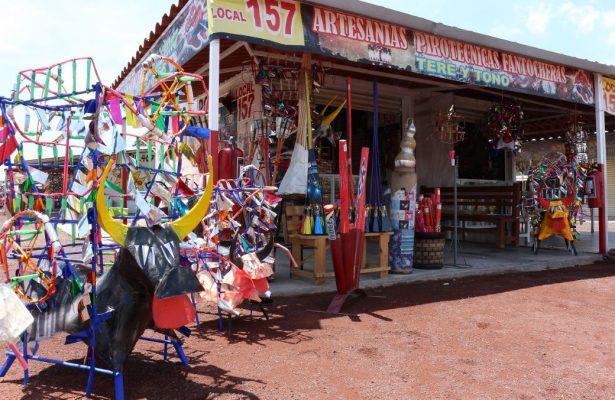 Piden vendedores reconstruir mercado de San Pablito en Tultepec