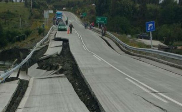 Suman 11 réplicas tras sismo en Chile; vialidades, las más afectadas