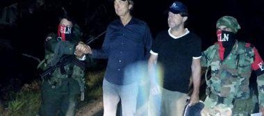ELN libera a dos periodistas holandeses secuestrados en Colombia