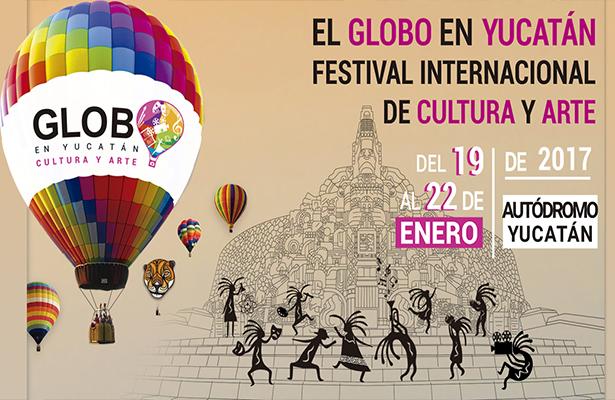 Aleks Syntek apadrinará el primer Festival El Globo en Yucatán