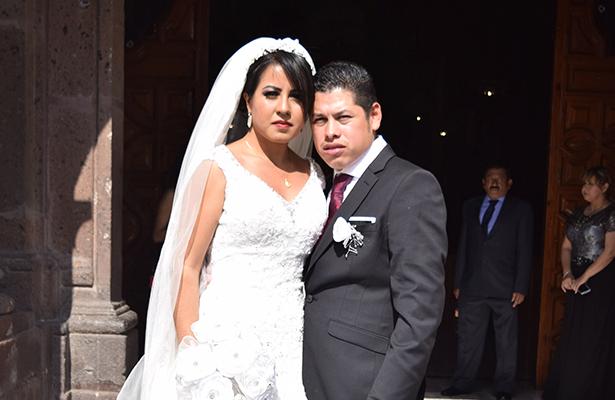 Pablo Alberto Carvajal y Ana Karen Nieto se juraron amor eterno