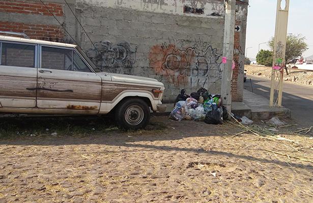 Deficiencias en recolección de basura