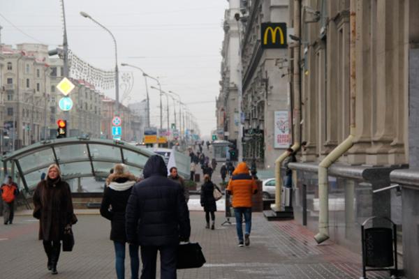 El emblema del capitalismo puro en la Plaza Roja de Moscú