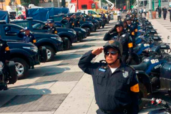 Policía capitalina vigilará festejos por Año Nuevo