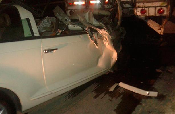 Trágica muerte de un automovilista