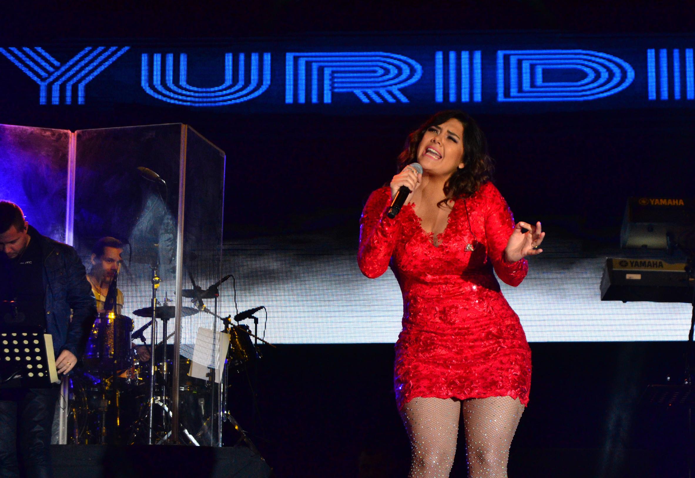 """Presentará Yuridia un concierto """"diferente"""". Foto: Notimex."""
