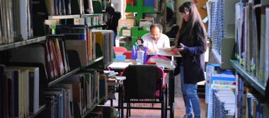 En Portal del Diezmo, primera biblioteca de San Juan