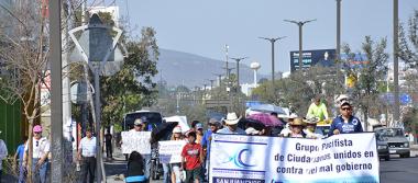 Protestan contra gasolinazo; Congreso Ciudadano Sanjuanense llevó a cabo la 2ª manifestación