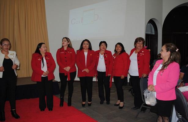 Reunión de mujeres emprendedoras