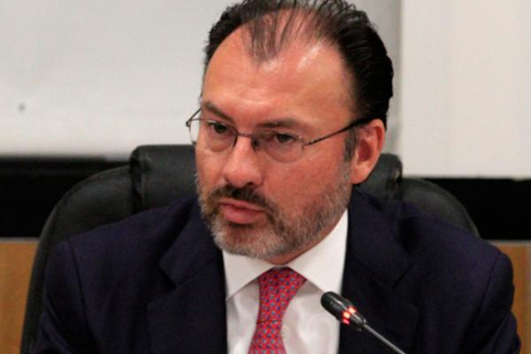 Videgaray Caso analizará protección para connacionales en EU