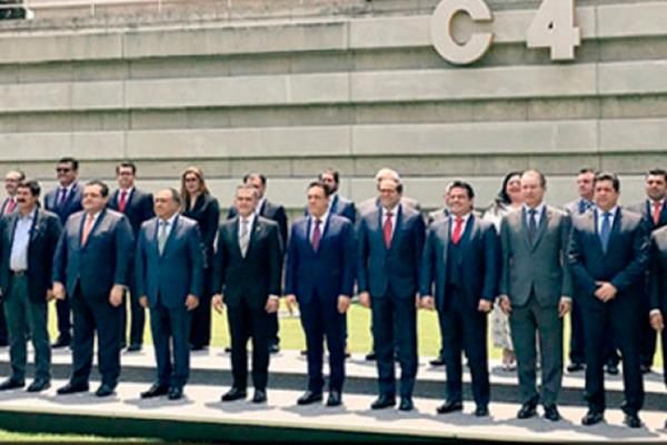 Se reúnen integrantes de la Comisión de Seguridad de la Conago