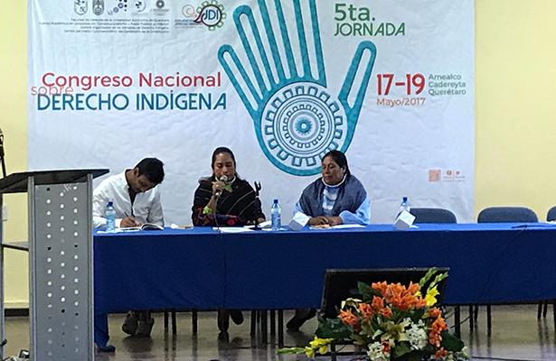 Jornada de Derecho Indígena en Amealco