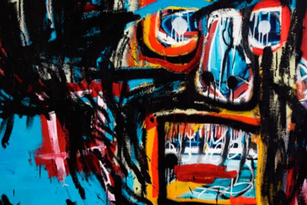 Subastan obra de Basquiat en más de 110 mdd