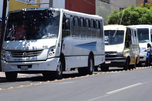 Valoran modificar tarifas del transporte público
