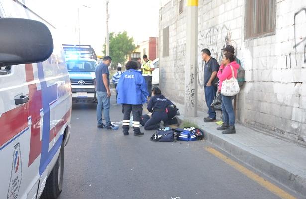 Fatal accidente en El Pedregal