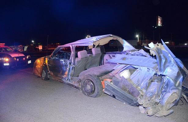 Dos heridos en accidente de la 57