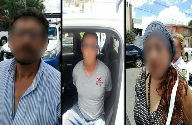 Los tres detenidos sujetos a investigación