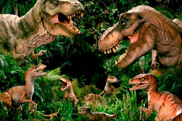 Estrena planetario proyección sobre dinosaurios