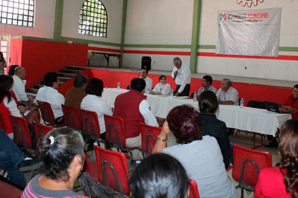 PRI realiza asamblea municipal