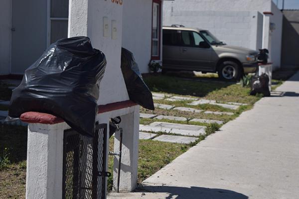 Reportan atraso en recolección de basura