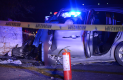 EN EL lugar perdieron la vida ocupantes del auto Nissan Versa, un tercero se aferra a la vida en un centro hospitalario.