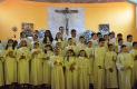 ENTRE el grupo de niños que hace unos días celebraron su primera comunión, estuvo Mario Jesús García.