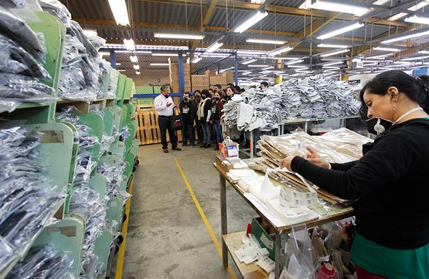 En crisis sector textil