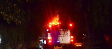 Ardió camioneta con hidrocarburo robado