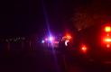 POLICÍA y emergencistas se concentraron en el punto donde ocurrió trágico accidente como consecuencia de alta velocidad y falta de cuidado.