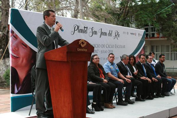 Conalep inicia ciclo escolar en San Juan