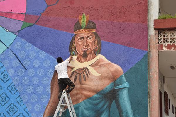 Pintarán mural en Boulevard Hidalgo