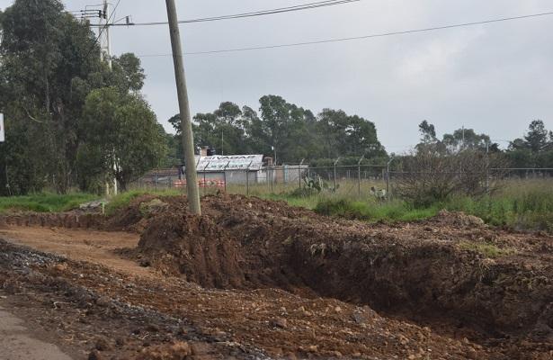 Arrancan obras estatales en Amealco por 50 mdp