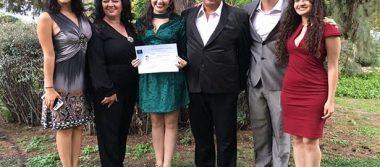 Alethia López Ortiz se tituló como Licenciada en Derecho