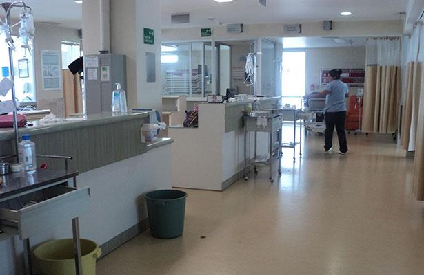 Hospital presenta fisuras por sismo