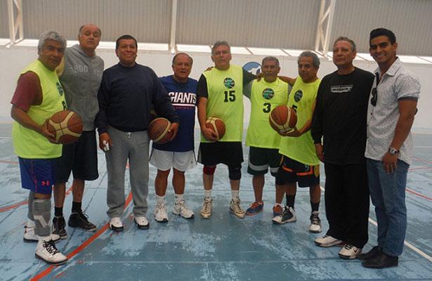 Cuadrangular de baloncesto master