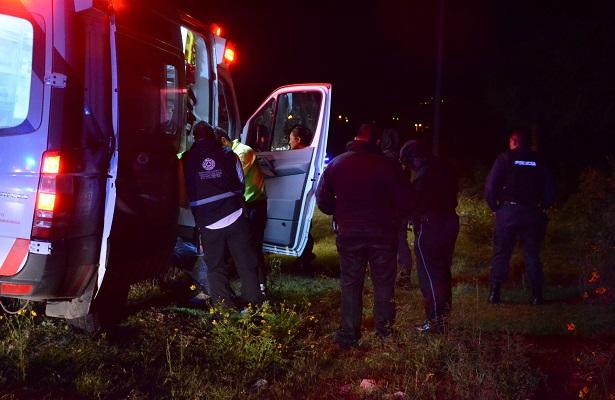 Se cae motociclista en El Rosario
