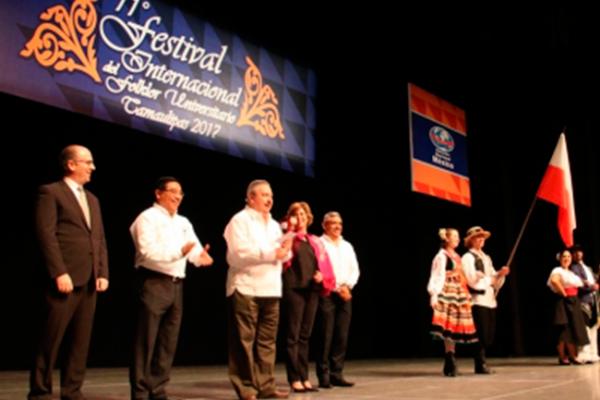 Presentan Festival del Folklor Universitario en Tamaulipas