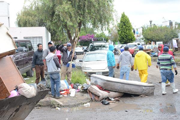 Sanjuanenses se solidarizan con damnificados de inundaciones