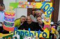 Hermanos Fernández de Cevallos que con gusto acompañaron al P. Panchito en la celebración de su cumpleaños.