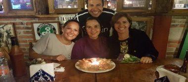 Tita, Montse, Tita y Mauricio festejaron su cumpleaños